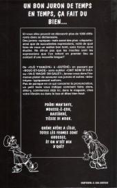 Verso de (AUT) Walthéry -31- Dictionnaire Wallon des jurons