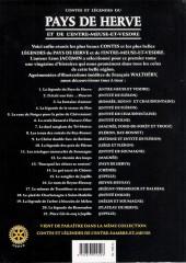 Verso de (AUT) Walthéry -33- Contes et Légendes du Pays de Herve