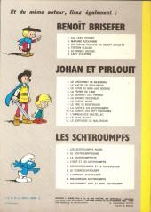 Verso de Johan et Pirlouit -4e74- La pierre de lune