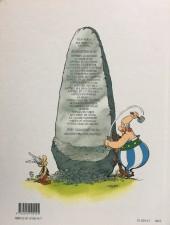 Verso de Astérix (Hachette) -14a1999- Astérix en Hispanie