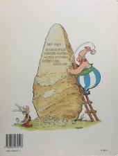 Verso de Astérix -27a1990- Le fils d'Astérix