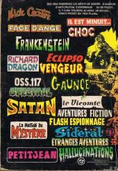 Verso de Le fils de Satan -Rec02- Album N°3077 (n°3 et n°4)