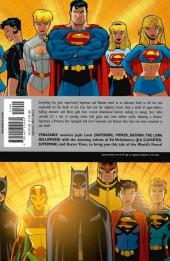 Verso de Superman/Batman (2003) -INT04 a- Vengeance