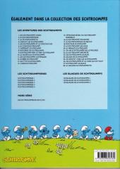 Verso de Les schtroumpfs -28Auchan- La Grande Schtroumpfette