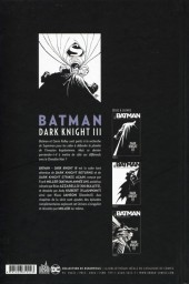 Verso de Batman - Dark Knight III -3- Tome 3