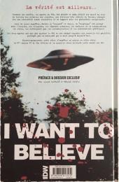 Verso de X-Files (The) -4- Les nouvelles affaires non classées - 4