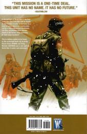 Verso de Team Zero (WildStorm - 2006) -INT- Team Zero