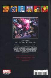 Verso de Marvel Comics - La collection (Hachette) -8166- Avengers - La Croisade des Enfants