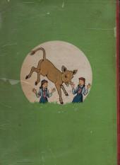 Verso de Bécassine -17c1951- Bécassine fait du scoutisme