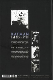 Verso de Batman - Dark Knight III -3TL- Tome 3
