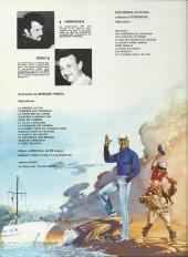 Verso de Bernard Prince -7b1981- La fournaise des damnés