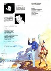 Verso de Bernard Prince -10b1981- Le souffle de moloch