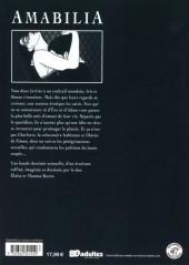 Verso de Amabilia - Tome INT