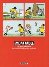 Verso de Imbattable -1- Justice et légumes frais