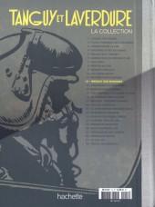 Verso de Tanguy et Laverdure - La Collection (Hachette) -12- Menace sur Mururoa