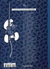 Verso de Les schtroumpfs - La collection (Hachette) -31- Les Schtroumpfs joueurs