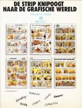 Verso de (AUT) Collectif - La BD clin d'oeil du monde graphique