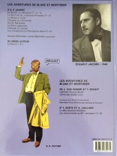 Verso de Blake et Mortimer (Les Aventures de) -12b05- Les 3 Formules du Professeur Satô - Tome 2