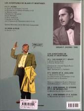 Verso de Blake et Mortimer (Les Aventures de) -6c2011- La Marque Jaune