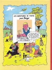 Verso de Tintin - Pastiches, parodies & pirates -a17- Le triangle du diamant vert