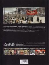 Verso de Ils ont fait l'Histoire -19- Lénine