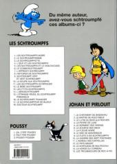 Verso de Les schtroumpfs -8b96- Histoires de schtroumpfs