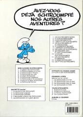 Verso de Les schtroumpfs -9d1990- Schtroumpf vert et vert schtroumpf