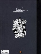 Verso de (AUT) Walthéry -41TS- Walthéry Sketchbook