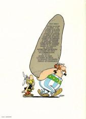 Verso de Astérix -9c1979a- Astérix et les Normands
