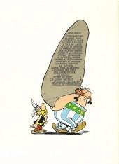 Verso de Astérix -12a76- Astérix aux jeux Olympiques