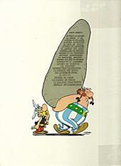 Verso de Astérix -19b1976- Le devin