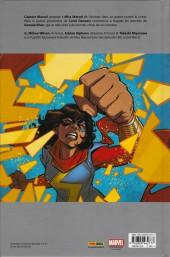 Verso de Ms. Marvel -5- Guerre civile
