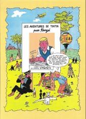 Verso de Tintin - Pastiches, parodies & pirates -38a17- Un jour dans un aéroport