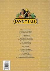 Verso de Papyrus -6b98- Les quatre doigts du dieu Lune