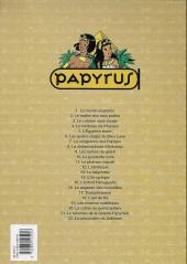 Verso de Papyrus -21a- Le talisman de la grande pyramide
