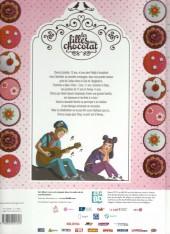 Verso de Les filles au chocolat -148hBD- Cœur cerise
