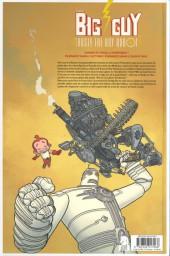 Verso de Big Guy -a17- Big Guy & Rusty le garçon robot