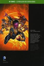 Verso de DC Comics - Le Meilleur des Super-Héros -Premium02- Green Lantern - Tome 2 - La Guerre de Sinestro