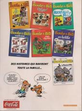 Verso de Boule et Bill -03- (Publicitaires) -27Coca- Bwouf allo Bill ?