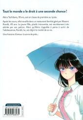 Verso de Après la pluie -1- Tome 1