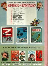 Verso de Spirou et Fantasio -2b66- Il y a un sorcier à Champignac