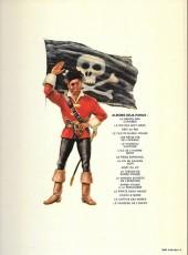 Verso de Barbe-Rouge -8c1977- Le piège espagnol