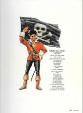 Verso de Barbe-Rouge -7b1977- L'île de l'homme mort