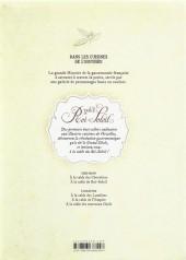 Verso de Dans les cuisines de l'Histoire -2- À la table du Roi-Soleil