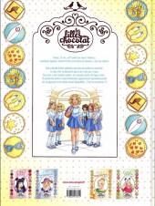 Verso de Les filles au chocolat -5- Cœur vanille