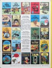 Verso de Tintin (Historique) -23C3Ter- Tintin et les picaros