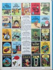 Verso de Tintin (Historique) -4C3bis- Les cigares du pharaon
