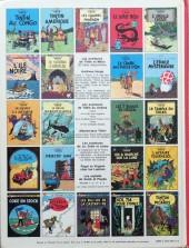 Verso de Tintin (Historique) -22C3- Vol 714 pour Sydney