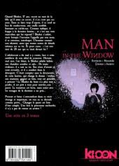 Verso de Man in the Window -1- Volume 1