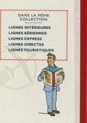 Verso de Tintin - Pastiches, parodies & pirates - Lignes Intérieures 1